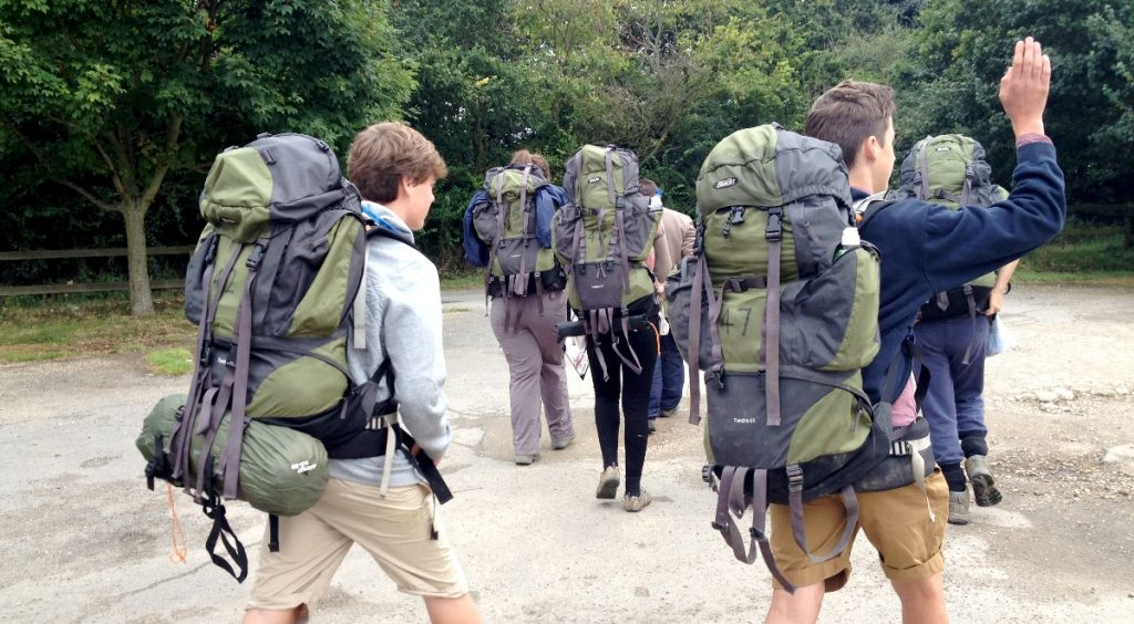 members-of-wickham-st-paul-youth-club-prepare-for-their-duke-of-edinburgh-bronze-award-group-expedition-25