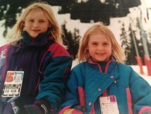 ski rachel and claire
